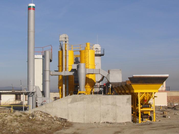 Енира ЕООД, Проекти - Асфалто-смесителна инсталация