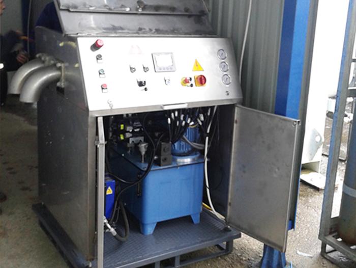 Enira Ltd, Projects - Dry ice pelletizer
